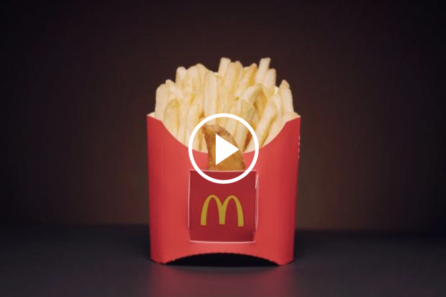 Brand alters its packaging to make a pocket for a 'lucky' wedge fry